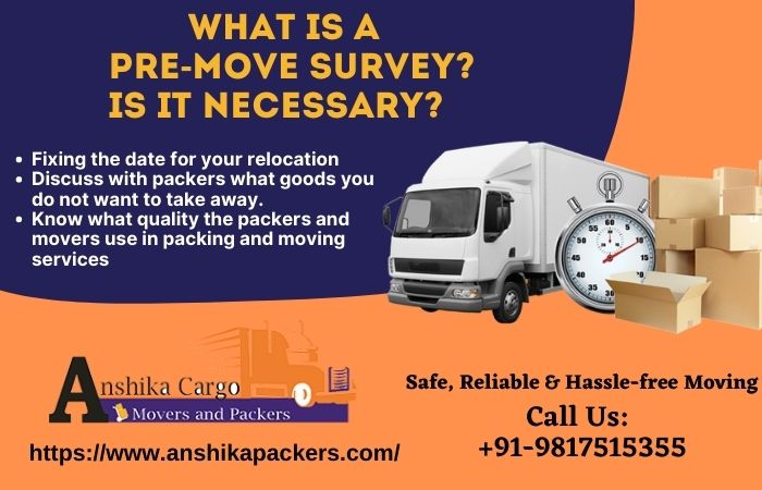 What Is A Pre-Move Survey Is It Necessary